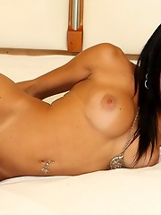 21yo tranny Sheyla has one of the most perfect bodies in the shemale world, and knows how to use it!