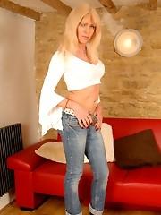 Blue Jeans, Blue Heels