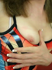 Wendy strips and strokes
