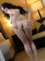 Beautiful Hazel spreads her juicy ass