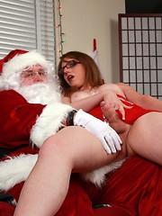 On Santa`s Lap