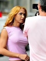 Sweet Tgirl Carla Abiazzi Showing Her Booty