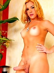 Hot Alexia Freire Showing Her Enormous Cock