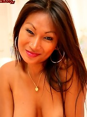 In Pattaya, Ladyboy Bo is known for her big hormonal tits.