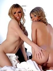 Fabulous Tgirls Jesse And Kelly Shore Having Fun